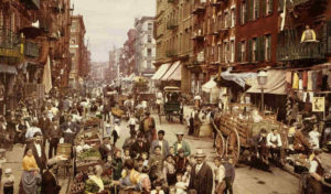 昔のニューヨークの画像