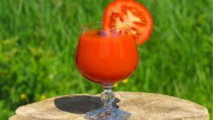 トマトジュースの画像