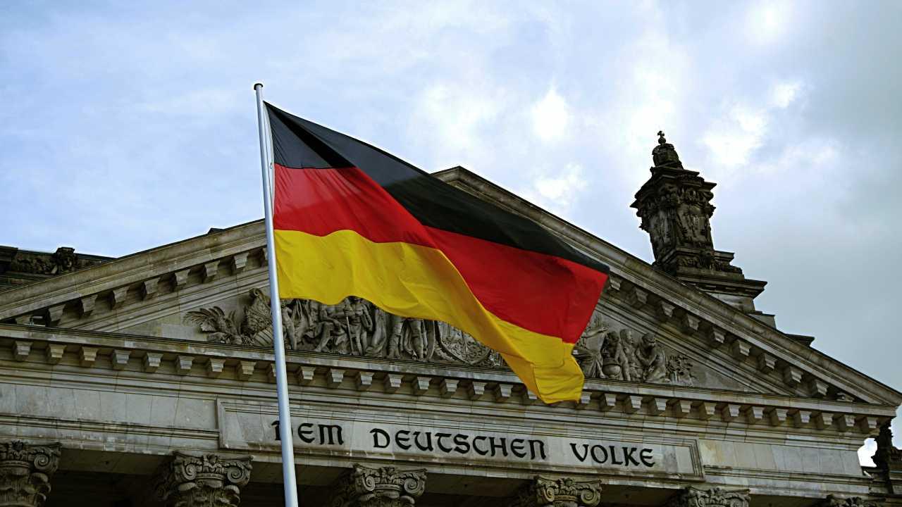 ドイツ国旗の画像