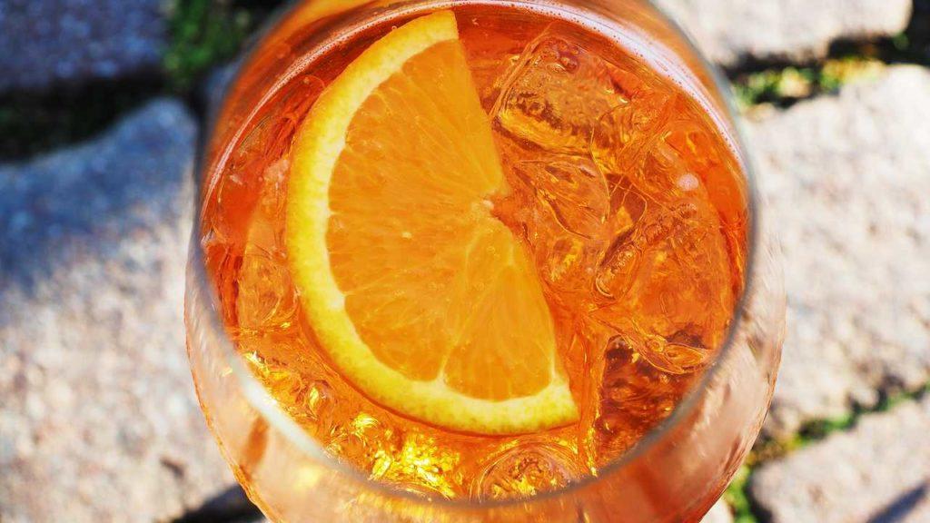 オレンジカクテルの画像
