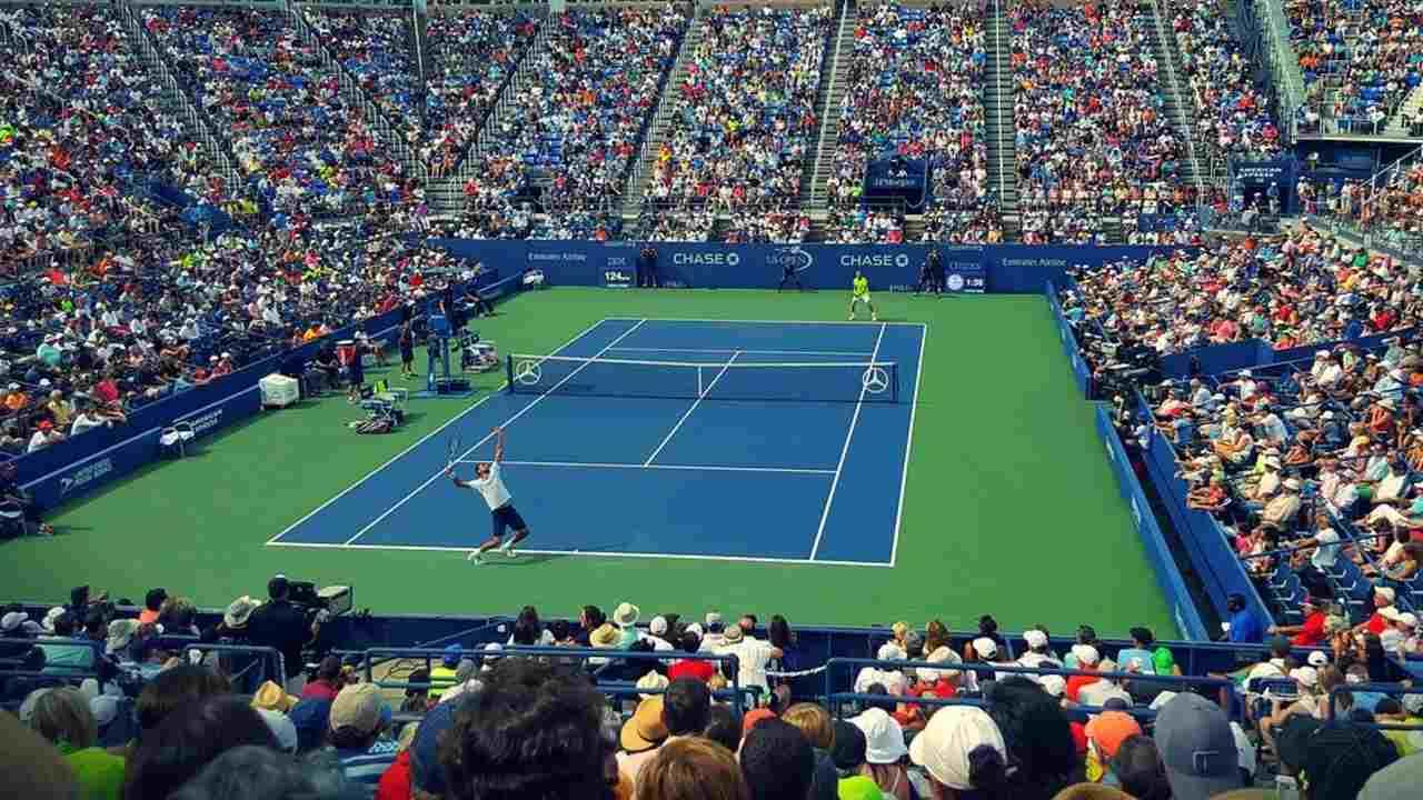 テニスの風景