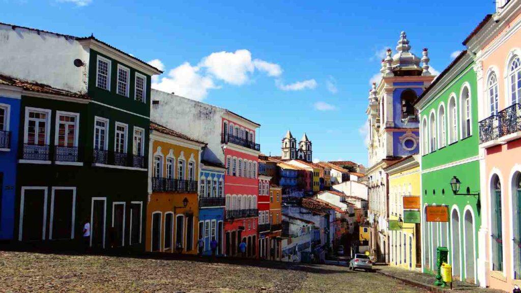 ブラジルの街並みの画像