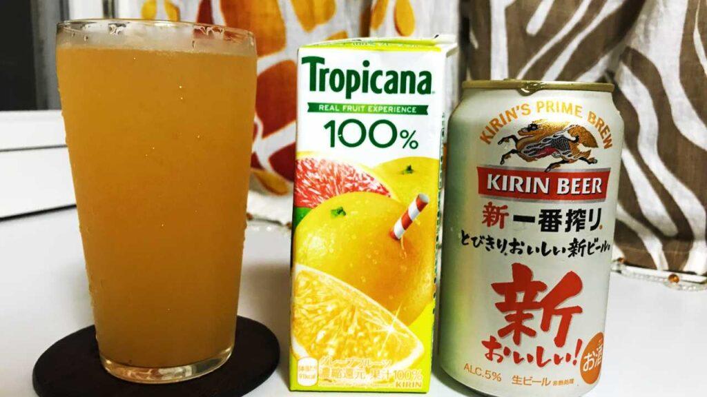 グレープフルーツビールの画像