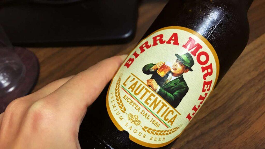 モレッティビールの画像