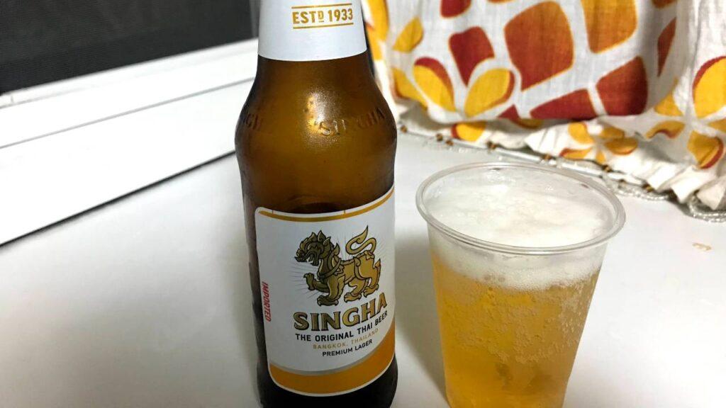 シンハービールの画像